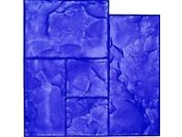 Imprinted concrete supples
