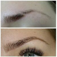 Eye Brow Extensions or permanent Makeup, forget Microblading!!