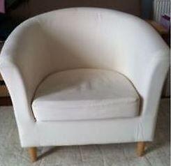 Ikea Armchair - Tullsta Ransta natural