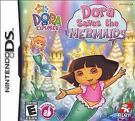 NINTENDO-DS-NDS-GAME-DORA-SAVES-THE-MERMAIDS-BRAND-NEW