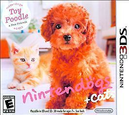 Nintendogs Cats Toy Poodle New Friends Nintendo Ds