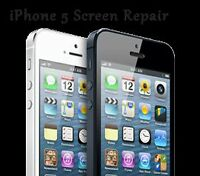 iPhone 5 Full Display Assembly repair! Done on the spot!