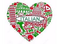 Italian lessons with qualified teacher from Italy
