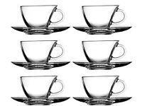 Pasabahce pangune 12 pcs. Mugs Set of glass