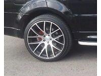 "22"" ONYX wheel for Range Rover / Audi Q7 / BMW X3/X4/X5/X6"