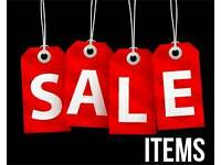 Sale items (most under £5). Please take a look.