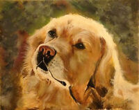 A Professional Canvas Print of Your Pet