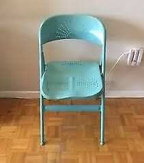 IKEA Frode Folding Chairs x 2 Teal/Turquoise