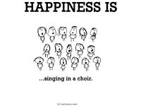 Come and join a fun, no-pressure choir in Bishopton!