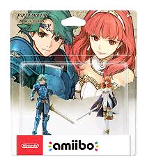Selling Alm and Celica Amiibo