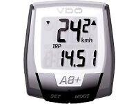 VDO WIRELESS CYCLE COMPUTER BICYCLE BIKE Speedo speedometer odometer