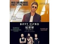 1 x SUMMER SESSIONS WEEKEND TICKET FOR NOEL GALLAGHER & BIFFY CLYRO