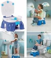 Fisher-Price royal stepstool potty - In box gently used