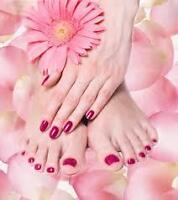 Manicure /Pedicure*** Both Only $20.99****** IN... MARKHAM....