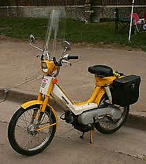 Looking for a running moped or scooter