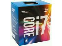 Intel core i7 7700 Quad Core 3.6GHZ - 4.2GHZ turbo 8MB Cache