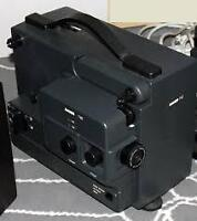 Projector Bauer 8mm projector with sound like new german made!