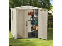 Wanted plastic or metal shed in any condition!