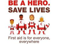 2hr First Aid Course Monday 13th March 9:15am-11:15am - Free Creche!