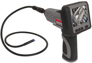WIRELESS INSPECTION CAMERA WITH RECORDABLE LCD MONITOR