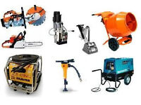WE WANT PLANT MACHINARY STIHL HONDA WACKER BELLE JCB BOMAG BEDFORD YANMAR - MANCHESTER - W-YORKSHIRE