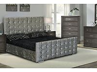 Luxury Crushed Velvet Beds