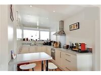 Spacious split level 3 bed flat near broadway market - canal view