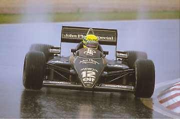 Platz 3: Aryton Senna aus Brasilien
