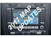VOLKSWAGEN / BLAUPUNKT EX Navigation DVD (RNS2 / MFD2) v15 UK & Europe 2017
