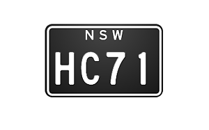 HC Number Plate for sale