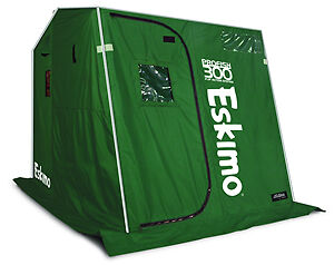 69288 eskimo ice shelter green replacement canvas pro fish for Ice fishing tip up parts