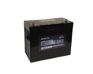 12V Leoch 160AH AGM Battery UItra Deep Cycle. 5 Year Warranty
