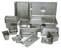 Stainless steel steam pans on Sale
