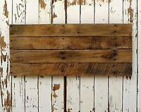 Rustic wood panels for signs