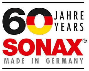 SONAX 60 ANS DE QUALITÉ MADE IN GERMANY