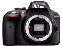 Nikon D3300 DSL camera to sell