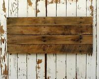 Reclaimed pallet wood sign panels - ready to letter