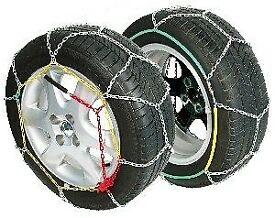 "(£20) ""Great condition""(Snow Chains, OTOTOP,CATENE NEVE BLU ICE 9mm GRUPPO 70). ."
