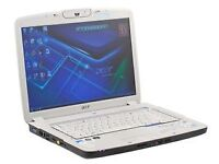 "ACER ASPIRE 5920 - 250GB HDD 4GB RAM Windows 7 Pro 15.4"" Laptop"
