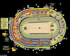 Bristol Fall 2019 Night Race Weekend Tickets Allison Terrace H