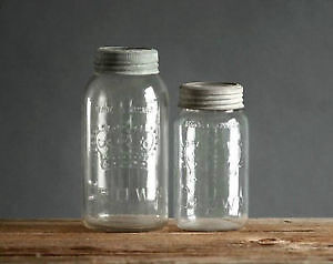 Lot of collectible old crown mason jars Windsor Region Ontario image 1