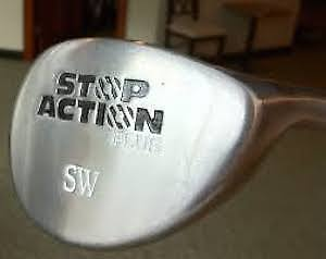Golf Club Sand Wedge, STOP Action Plus