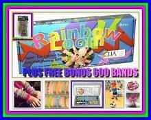 Brand New Rainbow Loom Kit Set Kids Toy PLUS 600 x Bands FREE Mount Kuring-gai Hornsby Area Preview