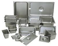 Stainless steel steam pans on Sale - Great price !!!