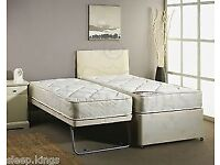 Single bed with guest bed underneath. 2 months old. Free local delivery.