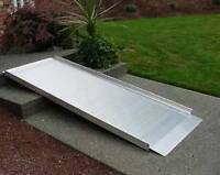 Wheelchair and Scooter Ramps $50 to $600