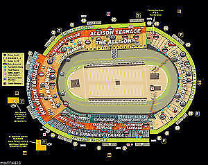 2 TICKETS FOR EA. BRISTAL FALL NASCAR RACE 8/16-17/ 2019
