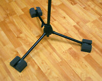 Auralex Platfeet Microphone Stand  Isolation Blocks