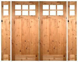 Double Exterior Entry Door