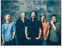 Foo Fighters Ticket Lower Bowl